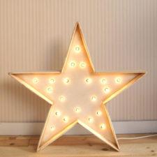 Estrella con luces