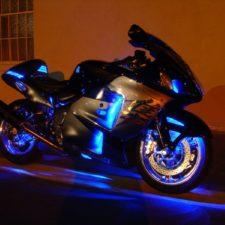 Motos con luces