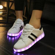 Calzado con luces