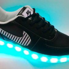 Nike con luces