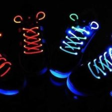 Cordones con luces