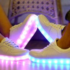 Deportivos con luces