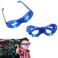 Dazzling Toys – Gafas con Luces de Color Intermitentes – Paquete de 2 (D260)