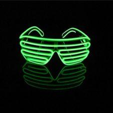 Lerway – Gafas con iluminación LED de neón y control por voz
