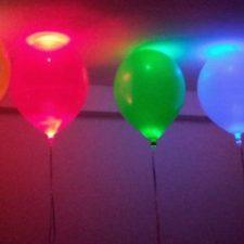 Globos con luces